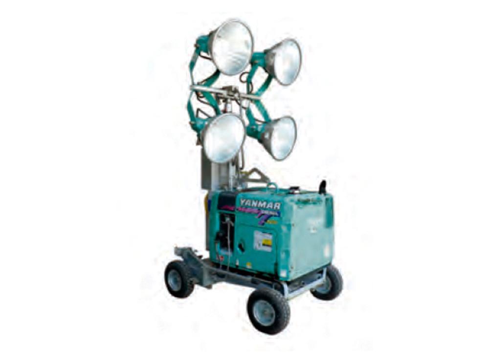4灯式投光器