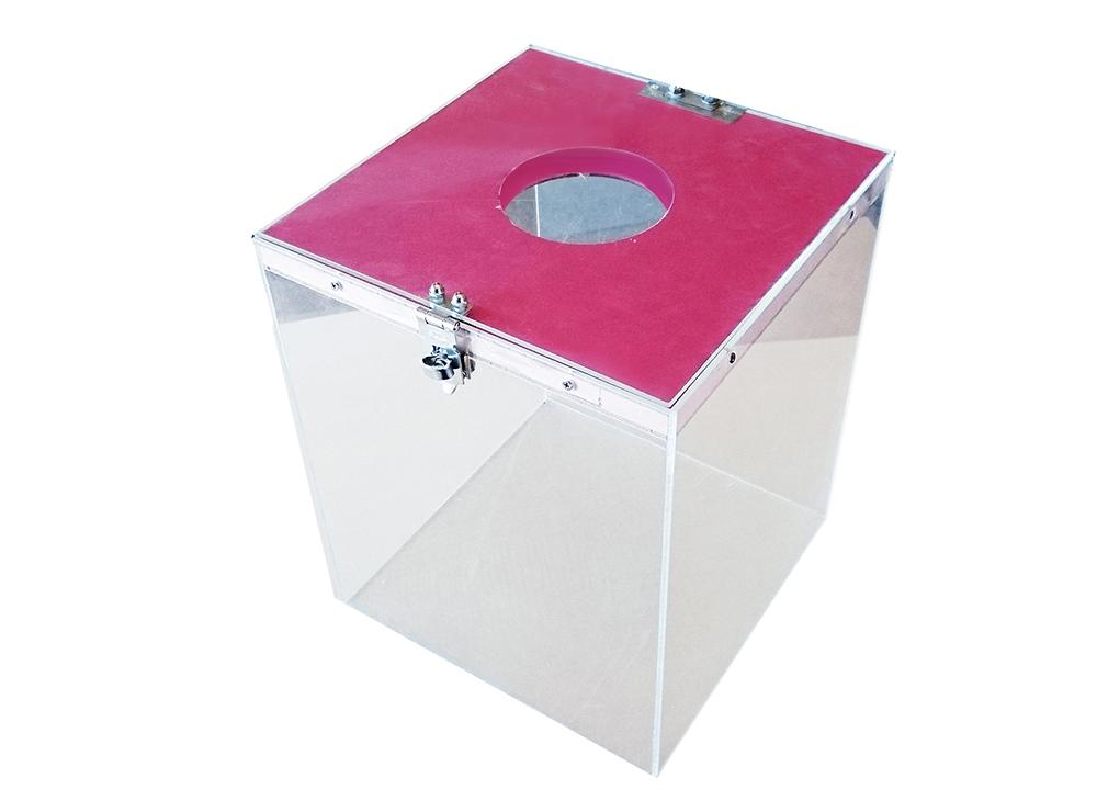 アクリル抽選箱(透明)