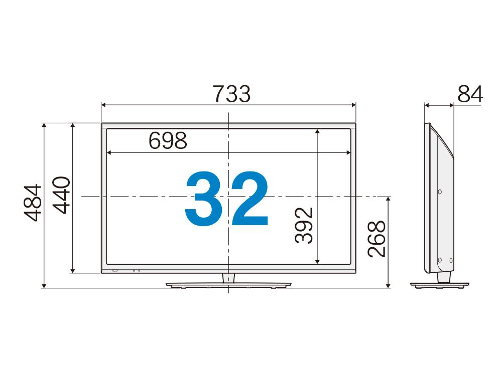 液晶テレビ(32型)