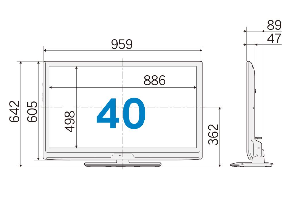 液晶テレビ(40型)