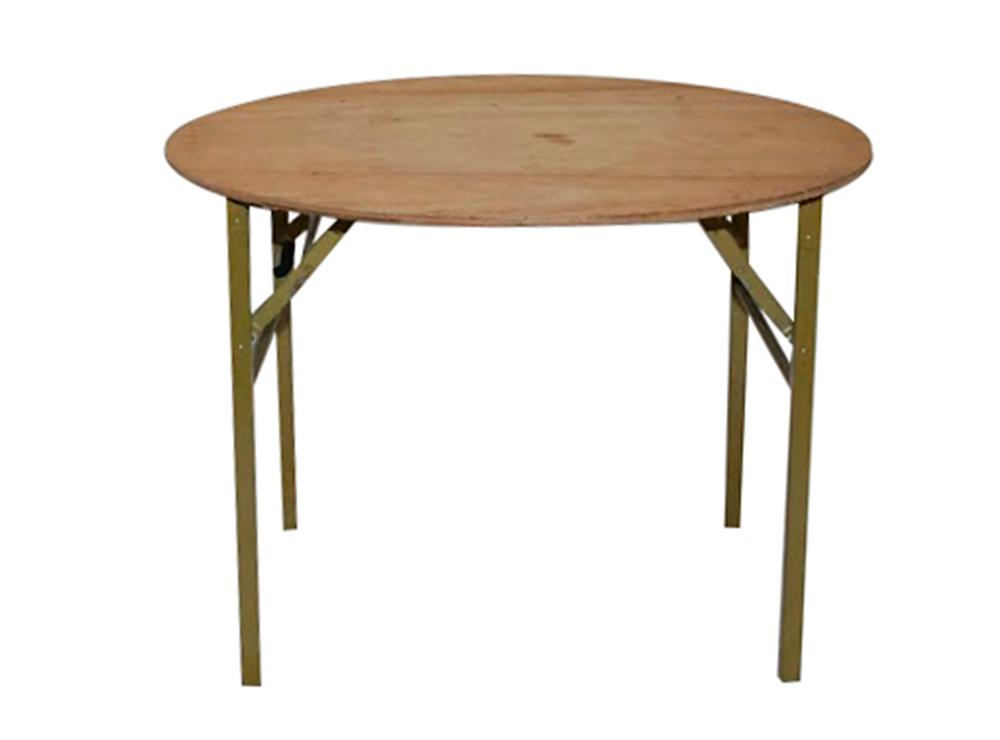 円形ベニアテーブル